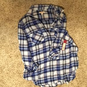 Merona button down flannel.